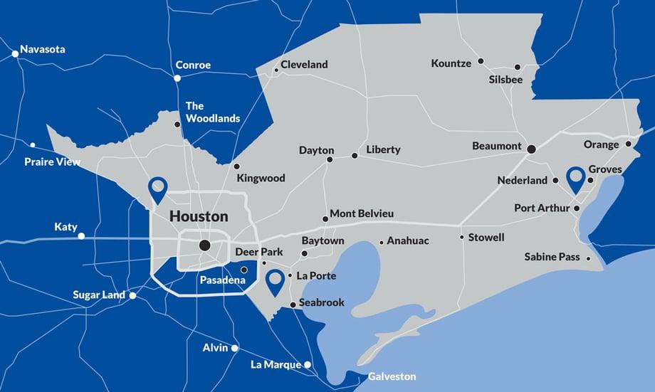 SSET Map- North Texas