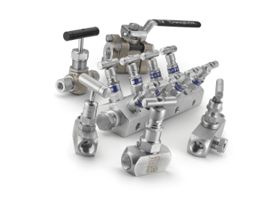 array of valves